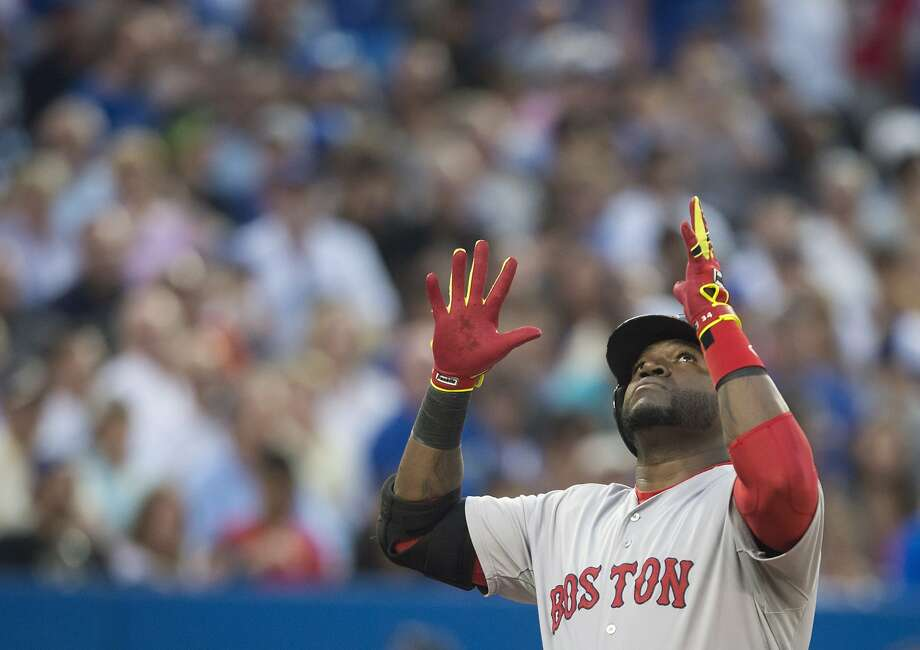David Ortiz hit two home runs - Nos. 452 and 453 of his career - to move past Carl Yastrzemski into 36th place on the all-time list. Photo: Darren Calabrese, Associated Press