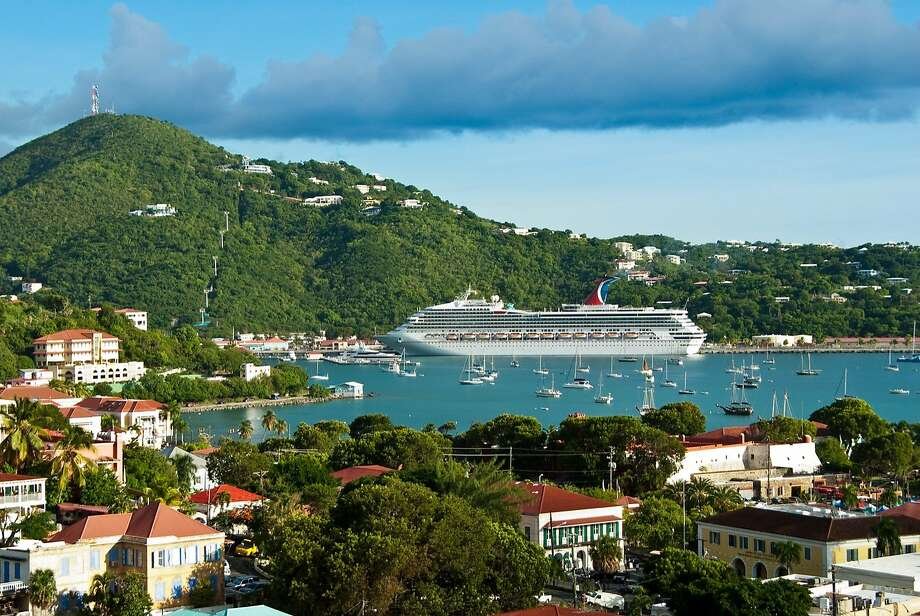 St. Thomas in the U.S. Virgin Islands is the Caribbean's second-busiest cruise ship port, but in summer, overnight guests often can have the place to themselves. Photo: David Swanson, Special To The Chronicle