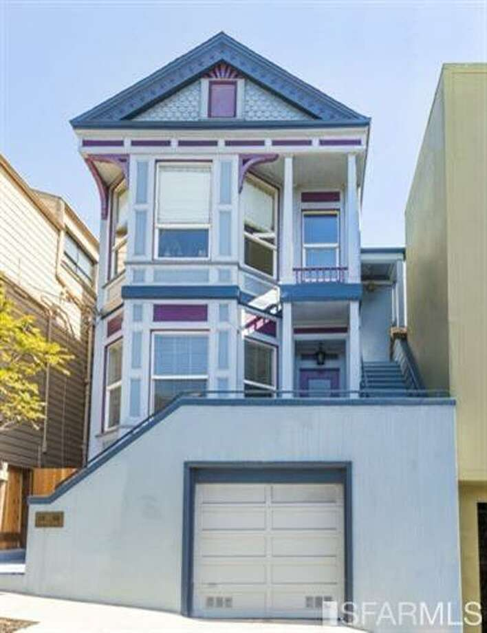 In Bernal Heights, Unit A at 267 Anderson St. sold for $1.05 million on June 30. Photo: MLS