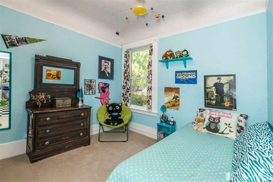 267 Anderson St., Unit A, Bernal Heights: The second bedroom. Photo: MLS