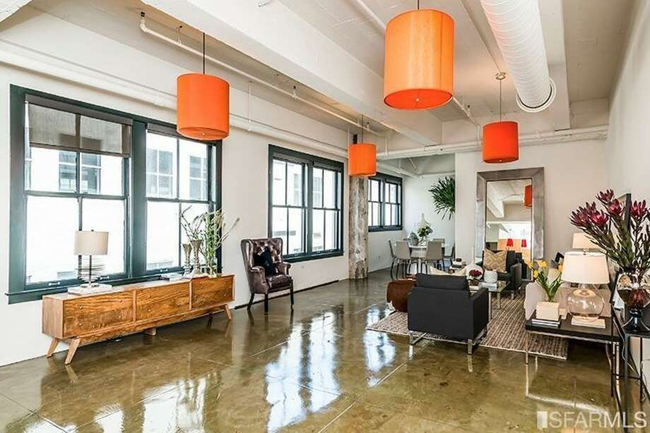 A loft at 410 Jessie Street in SoMa sold for $1.05 million on June 20. Photo: MLS
