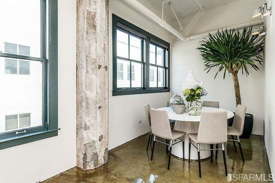 410 Jessie Street, SoMa: The dining area. Photo: MLS