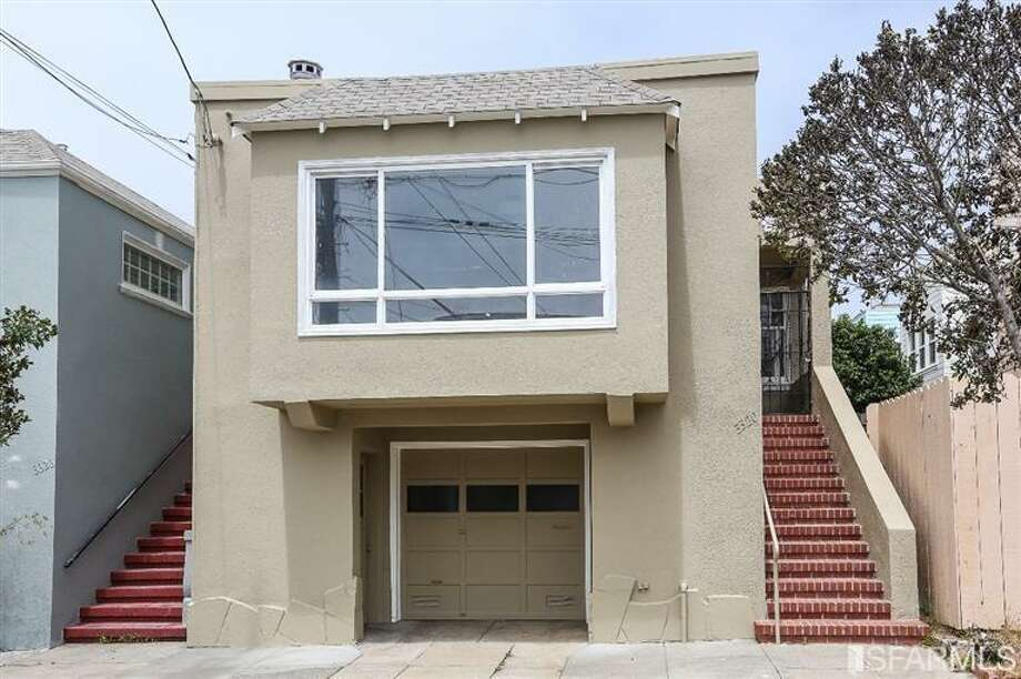 3320 Cabrillo St. is a single-family home in the Outer Richmond that sold for $1.05 million on July 15. Photo: MLS