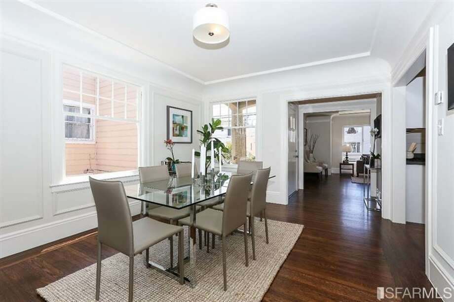 3320 Cabrillo St., Outer Richmond: The 1,565 square-foot-home has a good flow between entertaining spaces. Photo: MLS