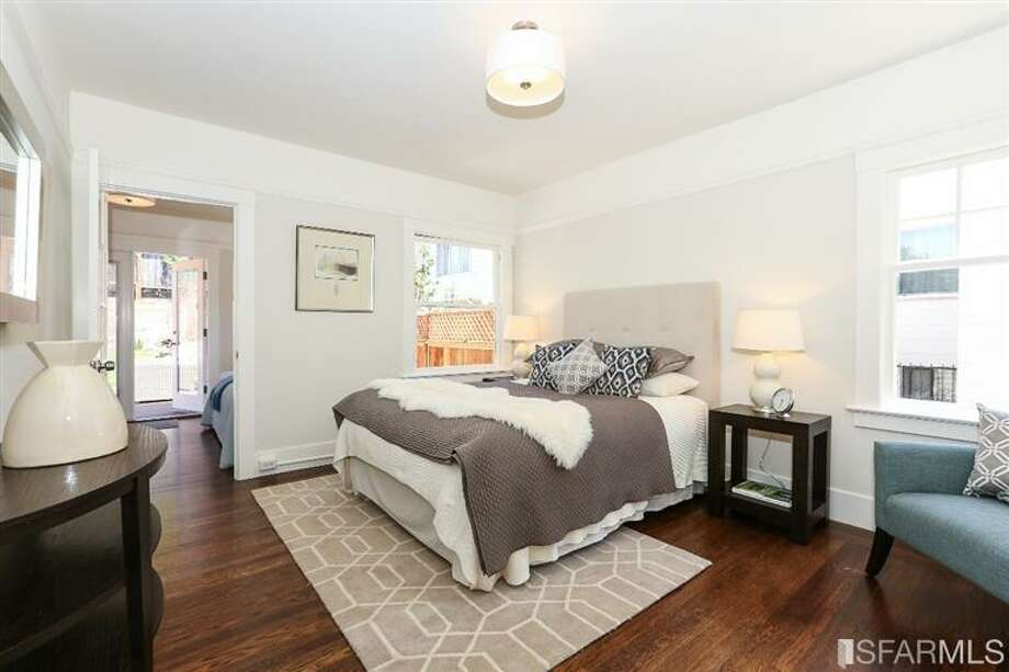 3320 Cabrillo St., Outer Richmond: The second bedroom. Photo: MLS