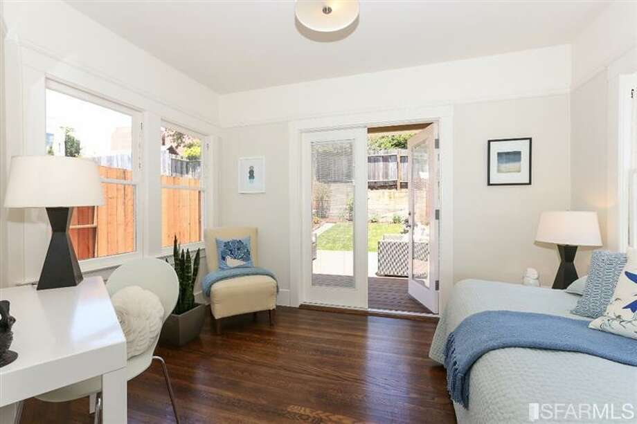 3320 Cabrillo St., Outer Richmond: The third bedroom. Photo: MLS