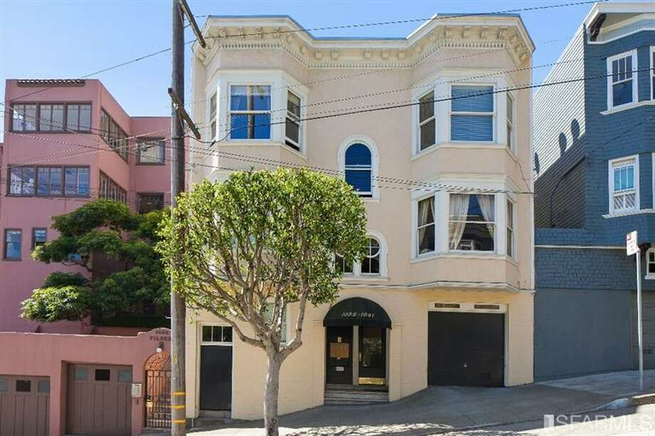1041 Filbert Street in Russian Hill sold for $1.055 million on June 25. Photo: MLS