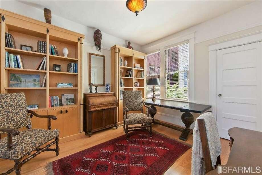 1041 Filbert Street, Russian Hill: The second bedroom. Photo: MLS