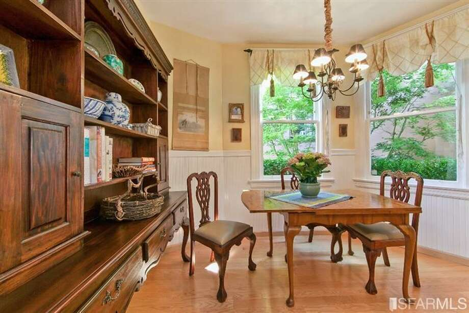 1041 Filbert Street, Russian Hill: The dining space. Photo: MLS