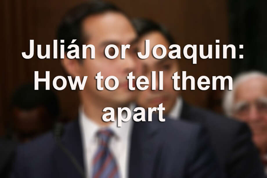 Ever wonder how to tell the difference between Mayor Julián Castro of  San Antonio and Representative Joaquin Castro? Click through the  slideshow for some fun telltale signs.