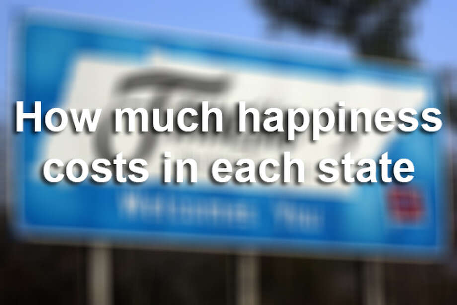 Find out how much you need to earn per year to be happy in each of the 50 states when the cost of living is taken into account. The gallery is listed from lowest to highest. Read more about this data here.