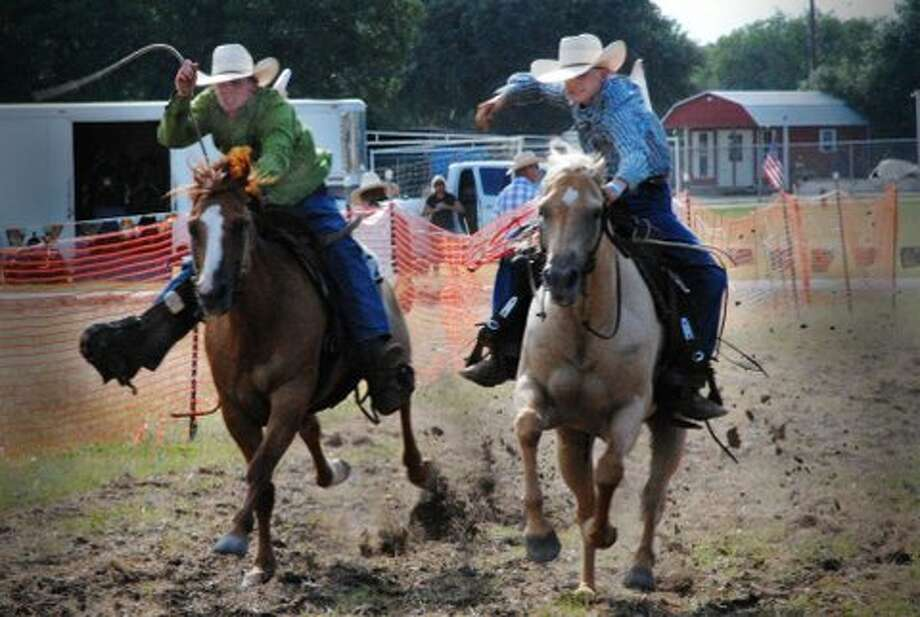 "There will be a total of 63 match races and six rounds of elimination to determine the who is the 'Fastest horse in Texas."" The competition is Saturday in Bandera. Photo: Picasa, Courtesy Of Bill Archer"