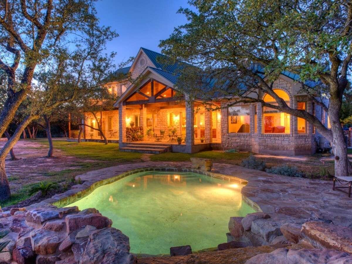 The property is in Lago Vista, 30 miles northwest of Austin.