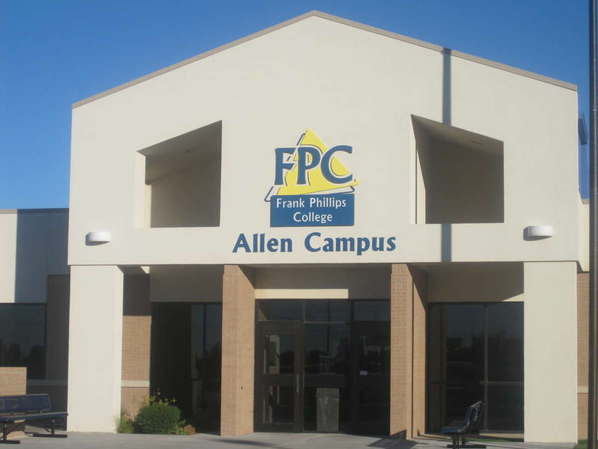 Frank Phillips College, Borger, Texas.
