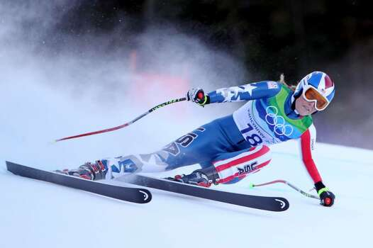 WHISTLER, BC - FEBRUARY 18:  Lindsey Vonn of The United States competes during the Alpine Skiing Ladies Super Combined Downhill on day 7 of the Vancouver 2010 Winter Olympics at Whistler Creekside on February 18, 2010 in Whistler, Canada.  (Photo by Doug Pensinger/Getty Images) *** Local Caption *** Lindsey Vonn Photo: Doug Pensinger, Getty Images / 2010 Getty Images