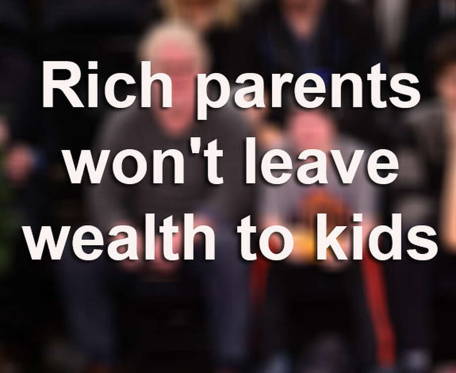 They're among the world's richest people, but don't expect them to share their incredible wealth with their offspring. Sources: Business Insider celebritynetworth.comnews.com.au