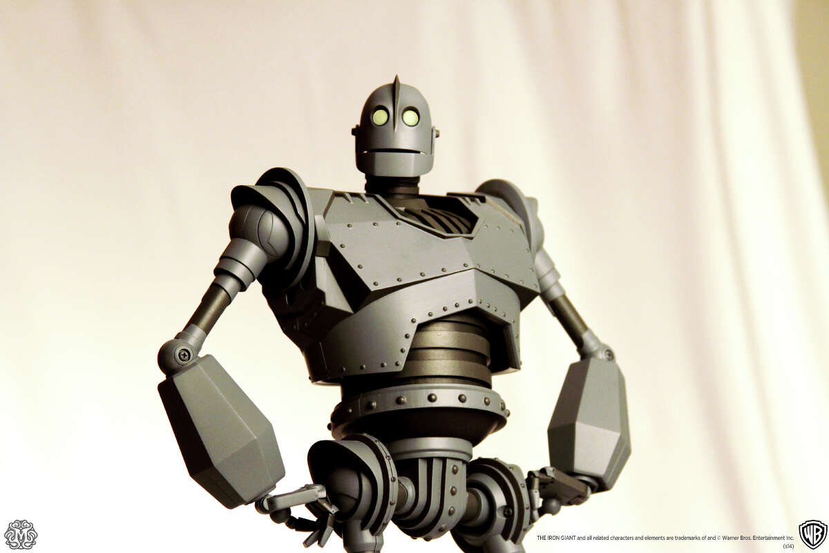 The Iron Giant toy will stand 16-inches.