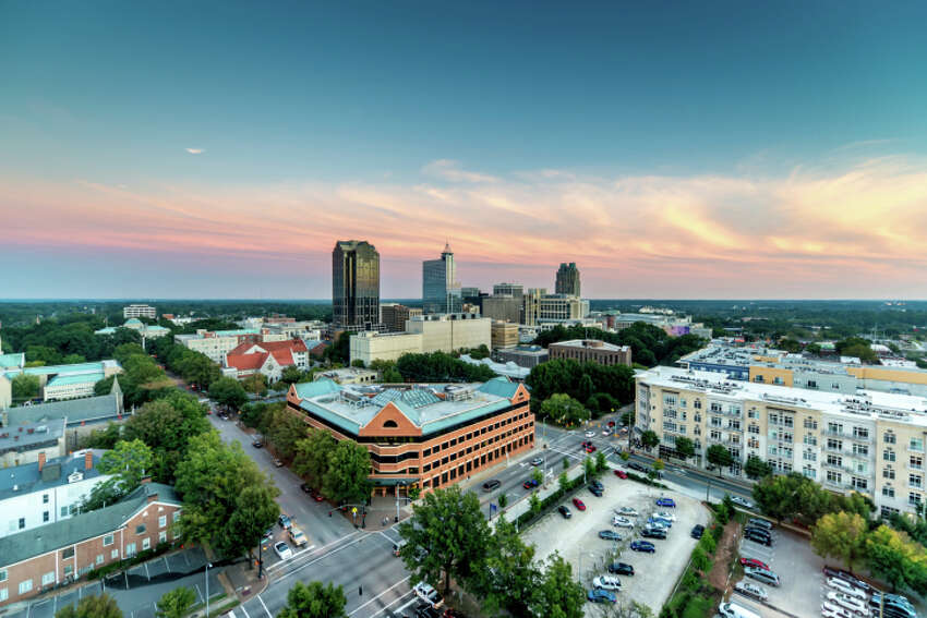3. Raleigh, N.C. The state capital landed at number three, in part due to its sheer number of universities and proximity to Research Triangle Park, which is home to more than 170 companies. The median salary for those just starting out is $51,200, while the unemployment rate is expected to be 4.72 percent this year. Living in Raleigh is a little friendlier on the pocket book, compared to the top two spots. The cost of living is just 0.55 percent higher than the national average.