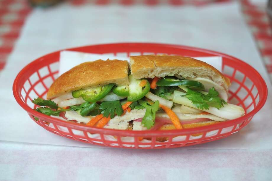The combo banh mi at Sing Sing, a Tenderloin cafe. Photo: Craig Hudson, The Chronicle