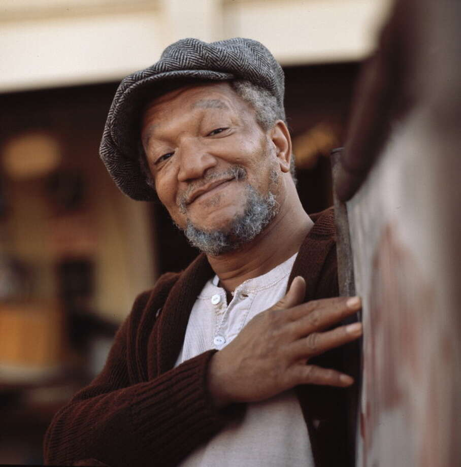 "1991: Comic Redd Foxx, ""suffered a fatal heart attack while on the set of his upcoming sitcom 'The Royal Family.'"" Source: Wikipedia Photo: NBC, Getty Images / 2012 NBCUniversal, Inc."