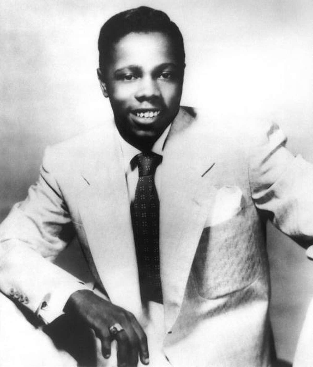 1954: Rhythm and blues recording star Johnny Ace