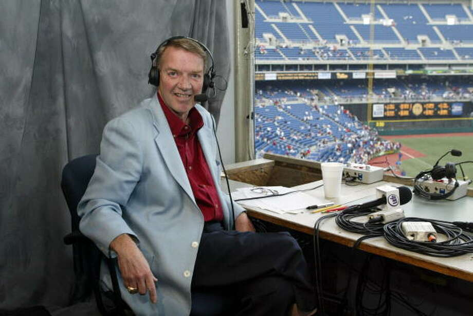 "2009: Philadelphia Phillies Lead Announcer, Harry Kalas ""collapsed of a heart attack in the broadcast booth at Nationals Park while preparing for an afternoon game."" Source: Wikipedia  Photo: Hunter Martin, Getty Images / 2009 Hunter Martin"