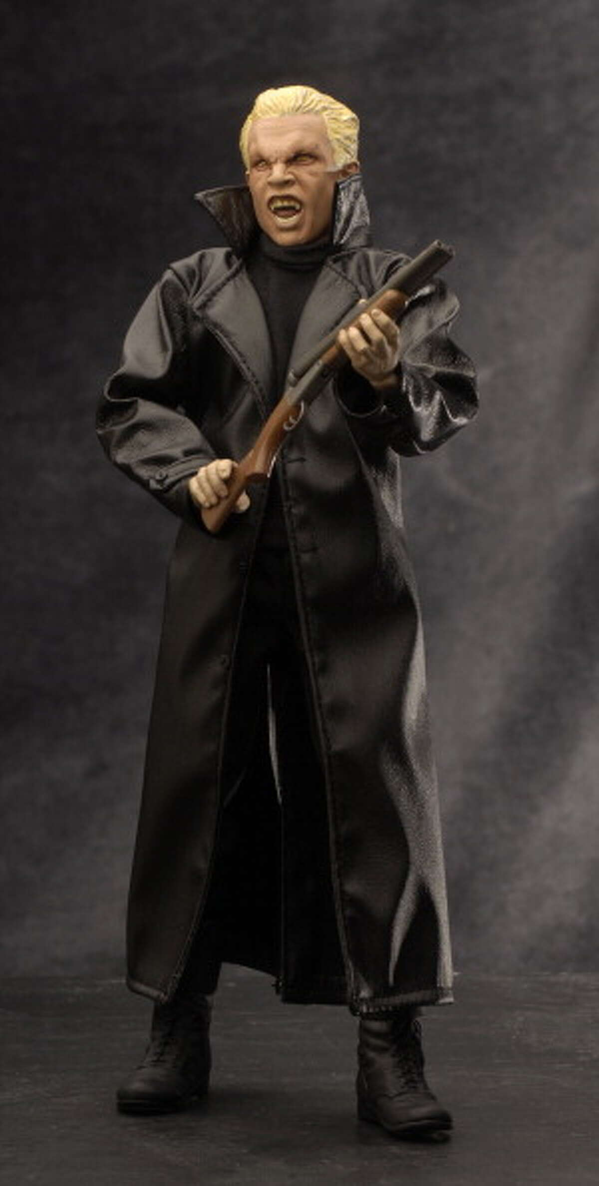 Ultra realistic action figures, such as Spike from Buffy the Vampire Slayer are very popular collector items.