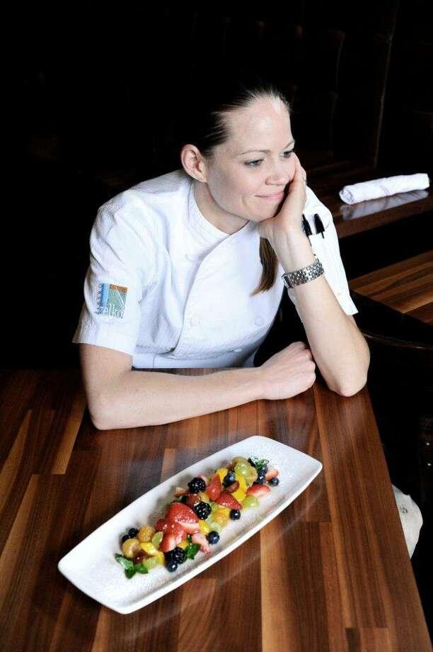 Jamie Zelko, chef-owner of Zelko Bistro in the Heights, is among the Houston chefs featured at MetroCooking Houston. (Photo: Debora Smail) Photo: Debora Smail / Debora Smail