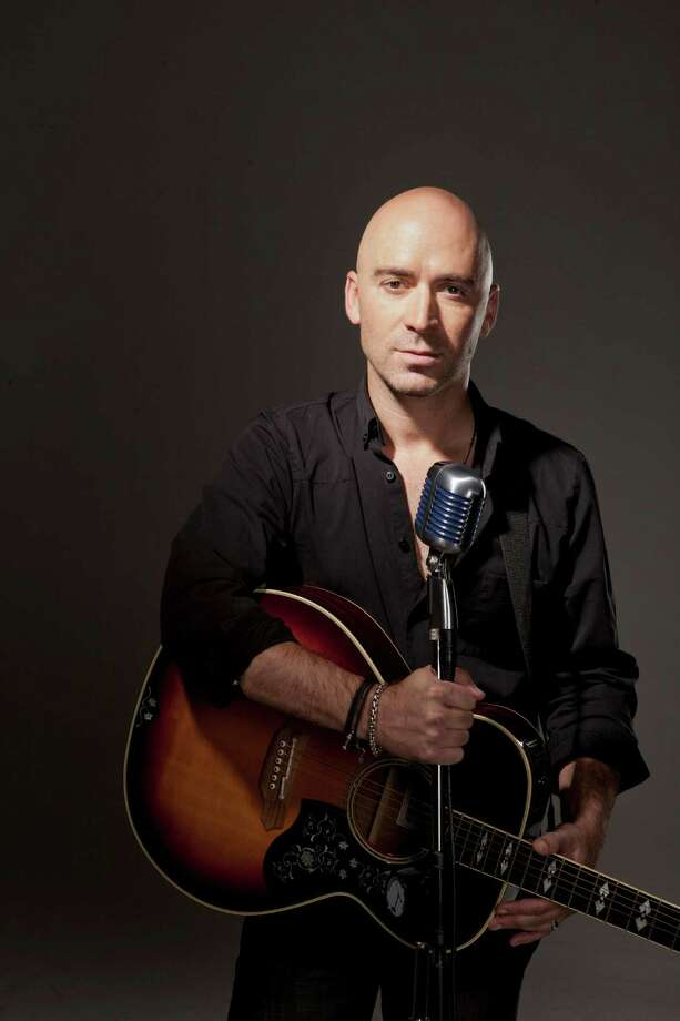 Ed Kowalczyk, former frontman of the band Live, performs at Alive@Five in Stamford on Thursday, July 31. Photo: Douglas Sonders, Contributed Photo / Stamford Advocate Contributed