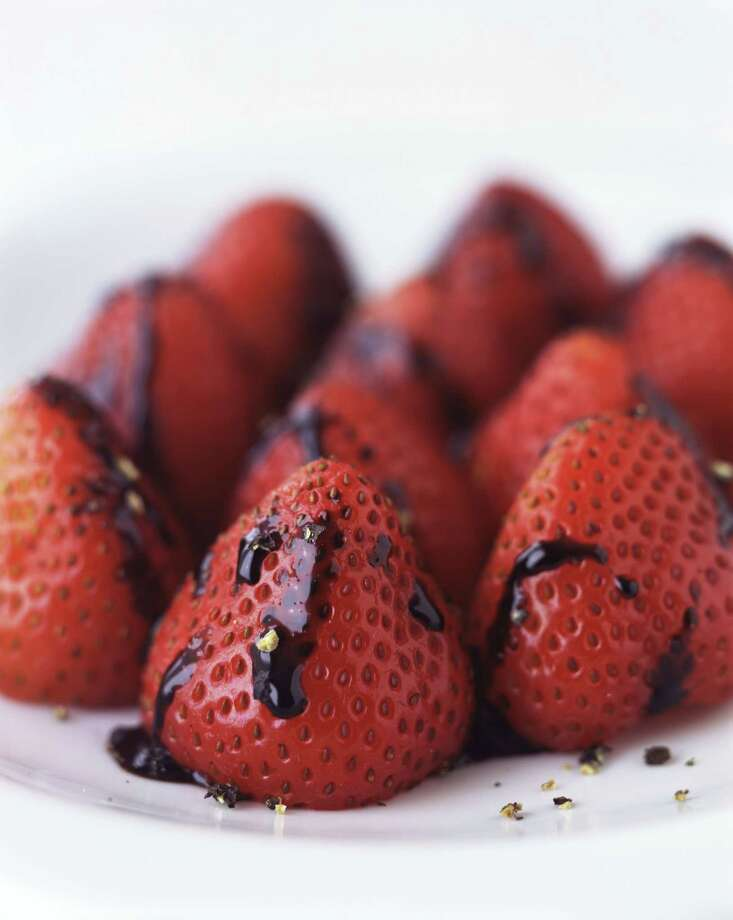 12) Strawberries with balsamic vinegar Photo: Rick Lew, Getty / (c) Rick Lew