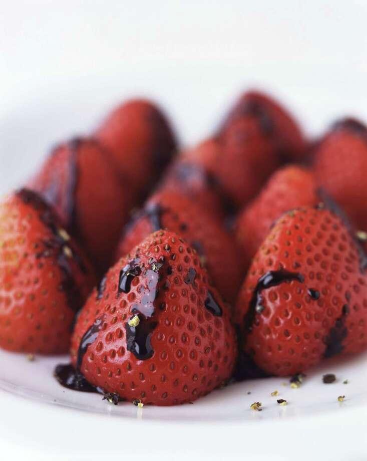 12)Strawberries with balsamic vinegar Photo: Rick Lew, Getty / (c) Rick Lew