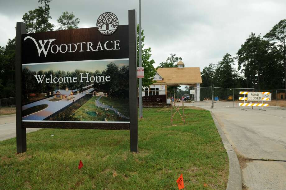 Woodtrace is a master-planned community being built north of Tomball. Photo: Jerry Baker, Freelance