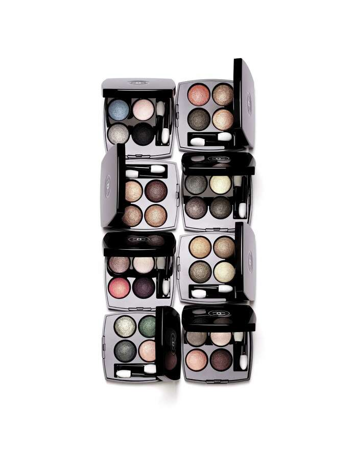 Chanel is re-introducing Les 4 Ombres Multi-Effect Quadra Eyeshadow in eight new palettes, all in new pigment-rich formulations. Photo: Chanel / Chanel