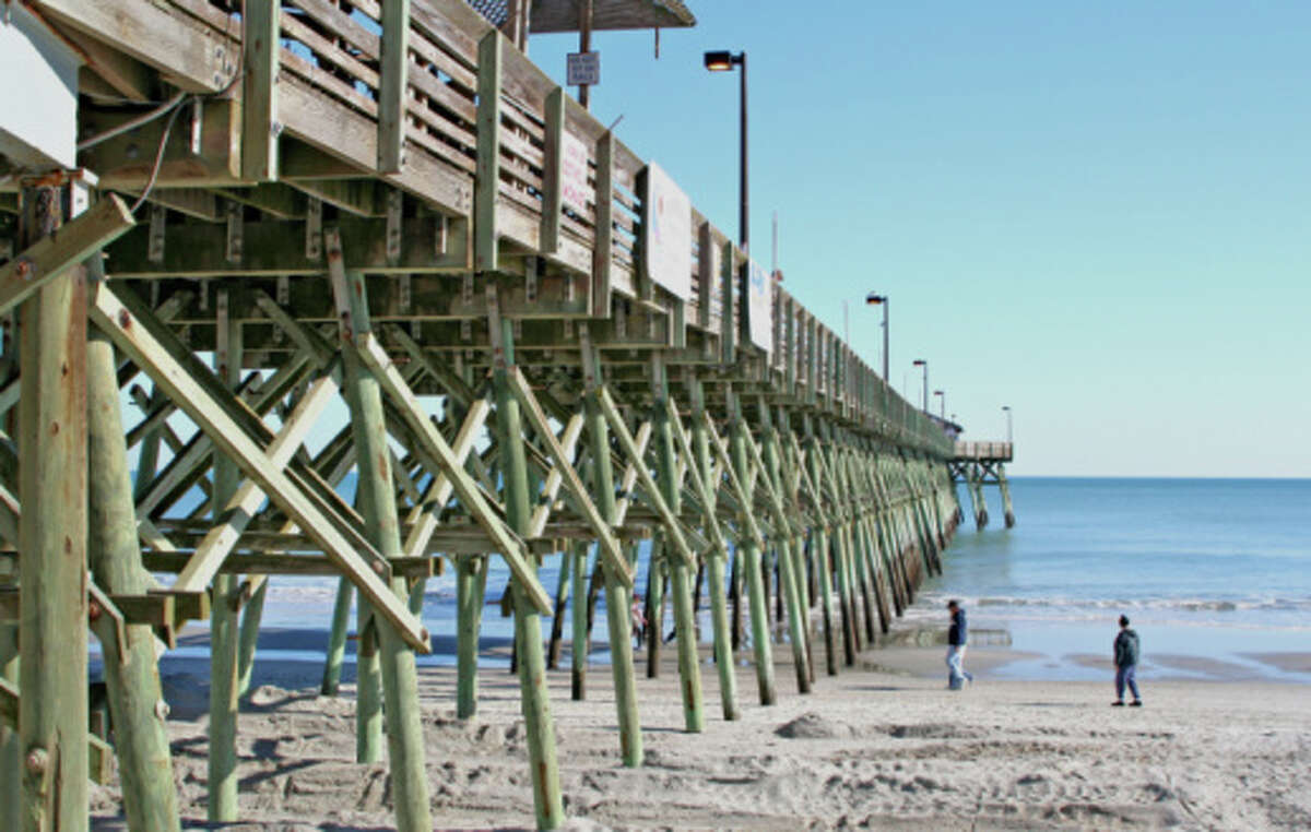No. 5: Myrtle Beach, South Carolina. It's a popular spot for native Southerners.