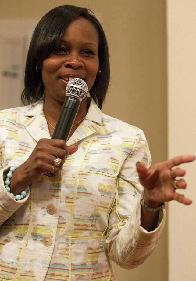 Ivy Taylor is the first African-American to serve as San Antonio mayor. / For the Express-News