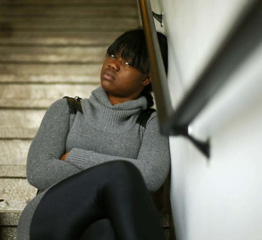 Seventeen-year-old Mariama Bangura of Chicago was arrested last year after she was accused of threatening a teacher. Though she was never charged, she has worried that the incident could affect her career ambitions to be a nurse or massage therapist. Photo: Charles Rex Arbogast, Associated Press