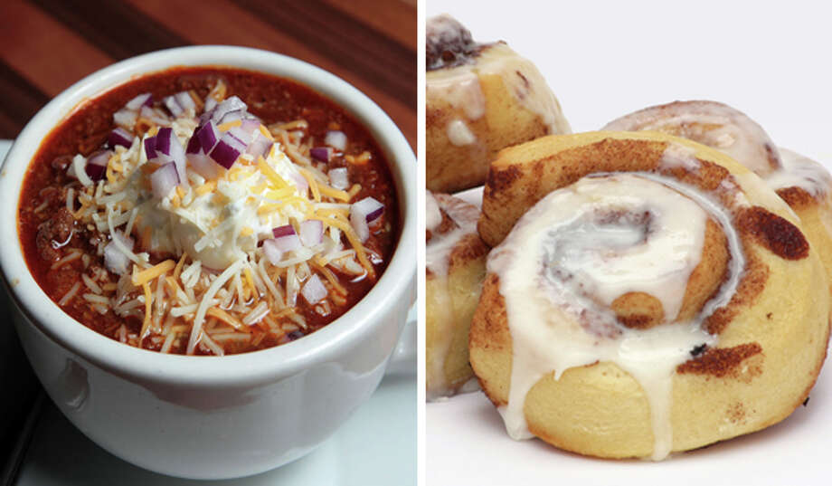 19) Chili and cinnamon rolls Photo: Getty