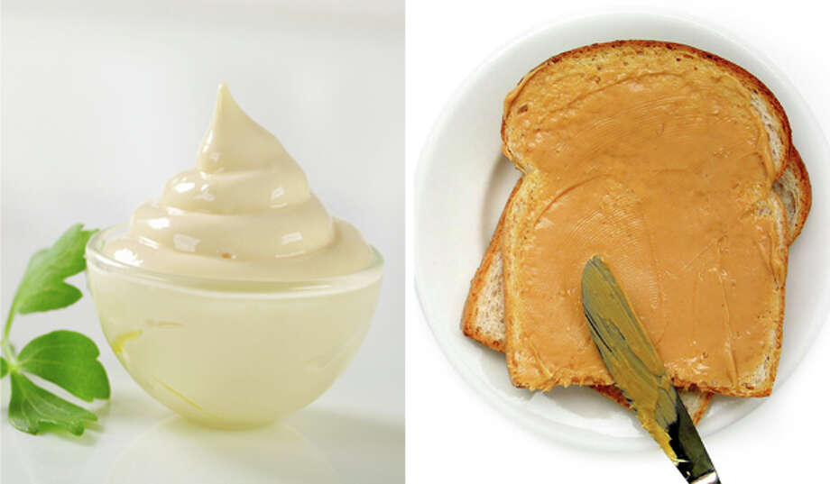 8) Peanut butter and mayo Photo: Getty