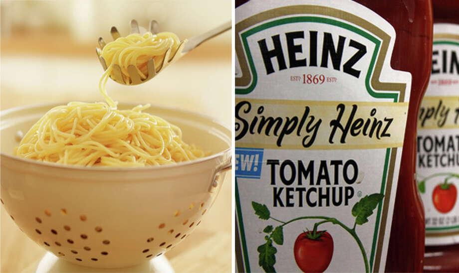 18) Plain spaghetti with ketchup Photo: Getty