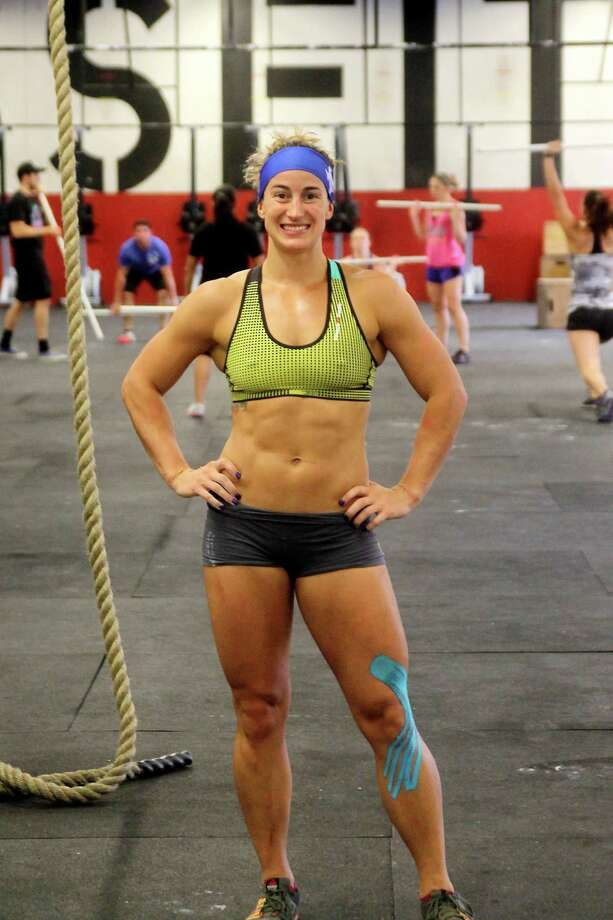 Jenn Jones will be competing at the 2014 Crossfit Games. Photo by Pin Lim. Photo: Pin Lim, Freelance / Copyright Pin Lim.