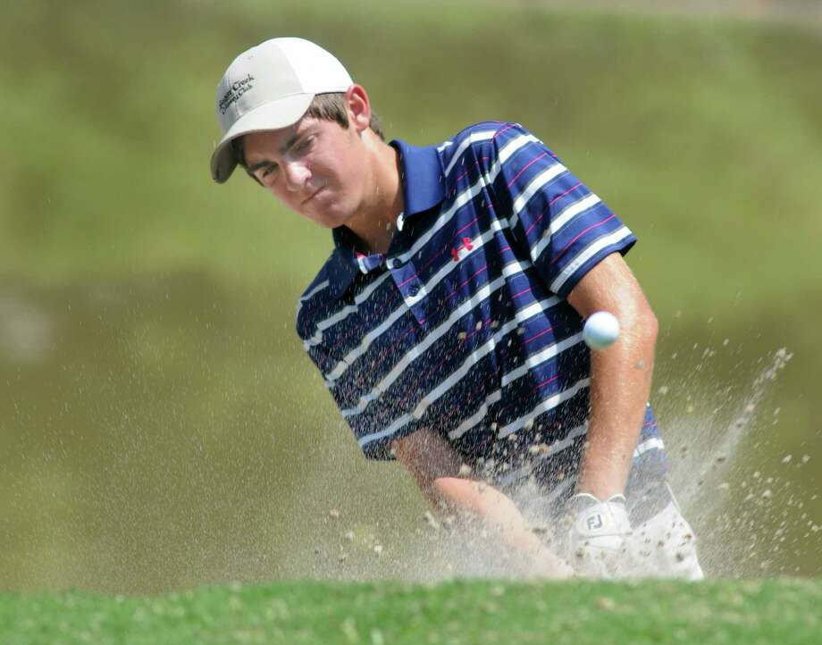 Connor Nance of Fort Bend Austin High School is among the players honing their skills this summer on the Beltway 8 Junior Golf Tour. Photo: Jerry Baker, Freelance