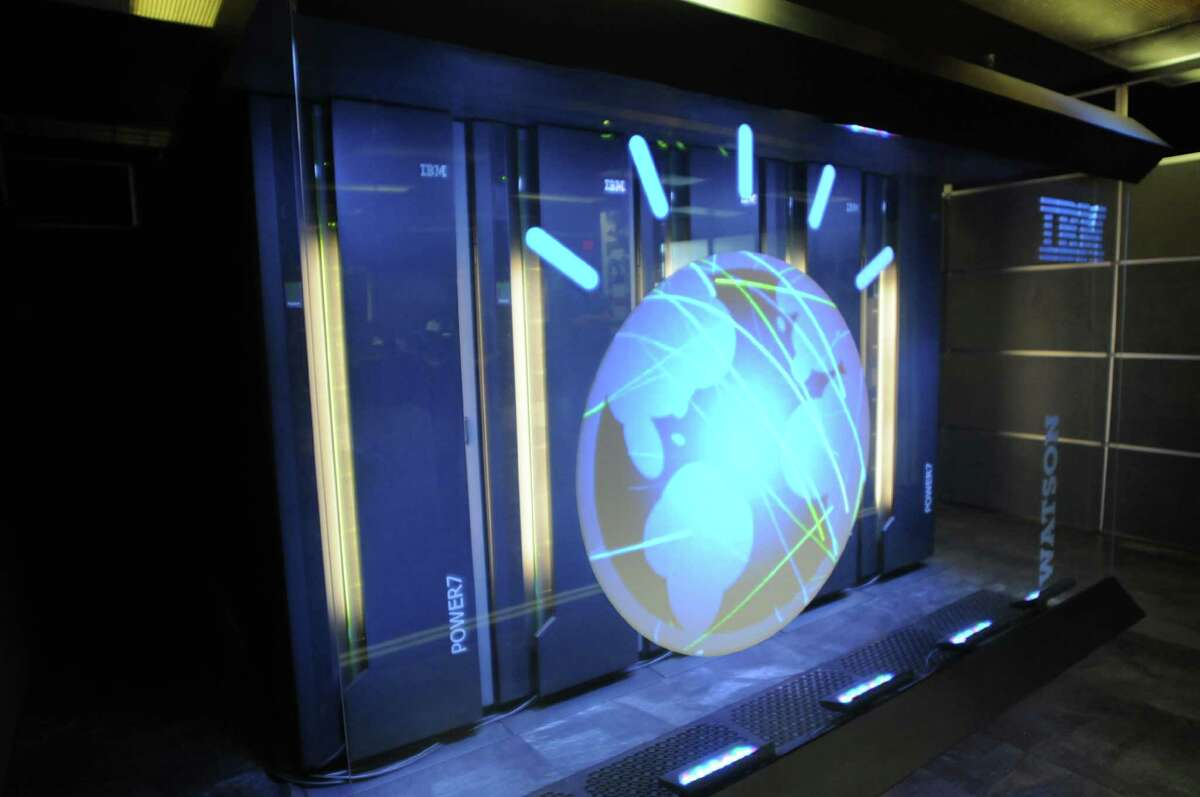USAA members can get access IBM supercomputer Watson at no cost through the insurer's website. Watson will be rolled out in USAA's mobile-phone and iPad app. (AP Photo/IBM, File)