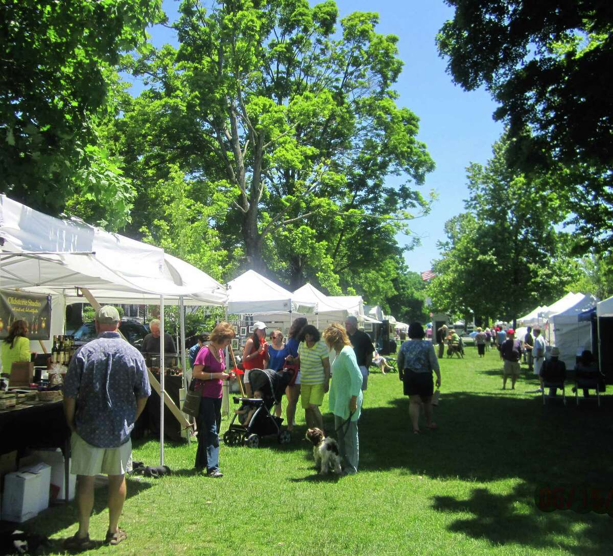 The Outdoor Art Festival graced New Milford's iconic Village Green for a 19th consecutive year, June 14-15, 2014.