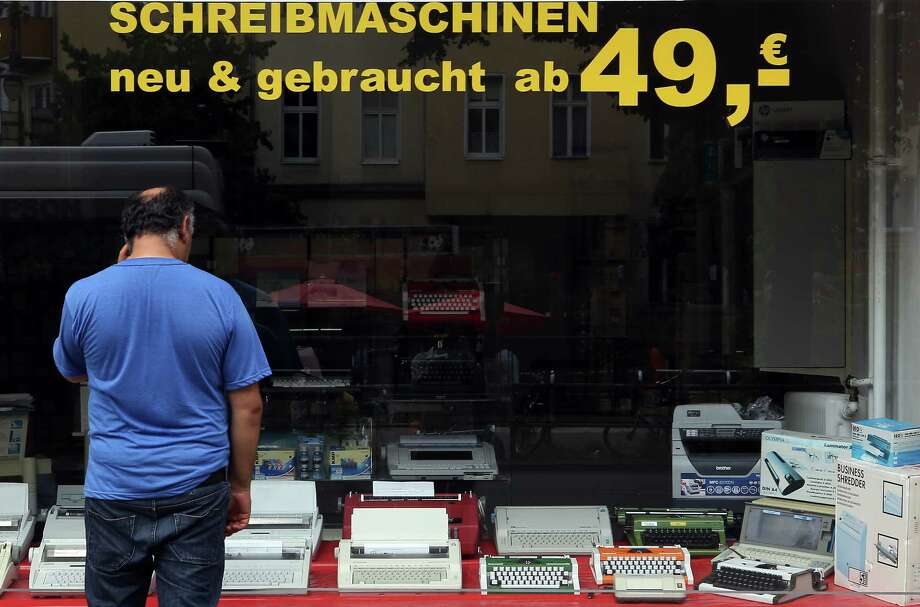 germany considers manual typewriters after nsa scandal houston chronicle. Black Bedroom Furniture Sets. Home Design Ideas