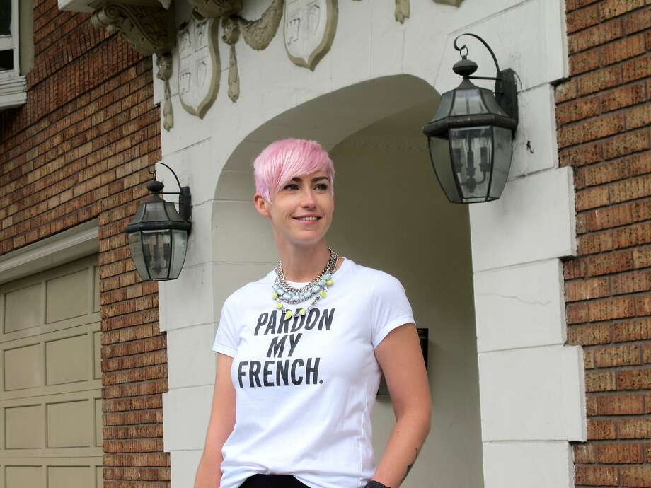 "Pink ""I was completely obsessed with Charlotte Free's pink hair and decided to go for it. I ended up keeping pink for almost a year (much longer than most hair colors) because it really put me in a good mood. There's just something happy about pink hair!"" Photo: Ben Huntington"