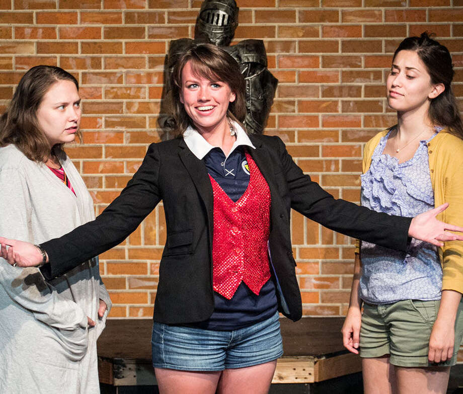 "Liz Vermeulen (from left), Bridget Melley and Samantha Grubbs are part of the cast of ""The Professionals."" Photo: Courtesy Jay Overton / Jay H. Overton @ 2014"