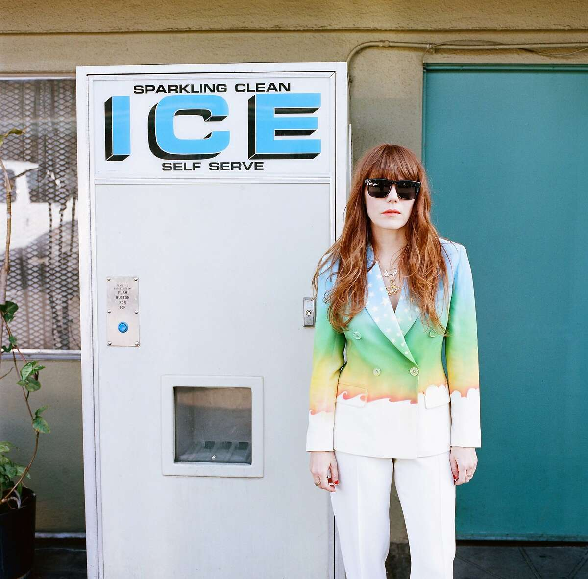 Jenny Lewis brings songs from her third solo album, 'The Voyager,' to the Outside Lands festival in Golden Gate Park.