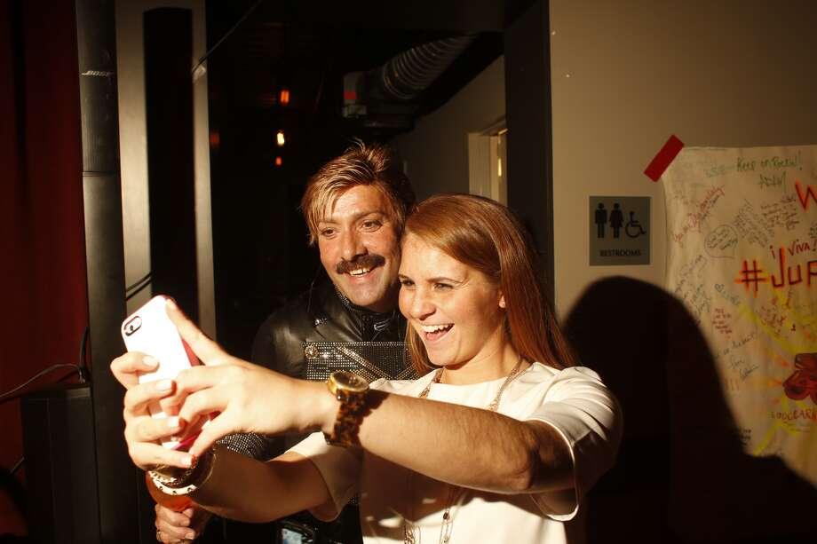 Nicole Appleby and Juan Carlos Photo: Johnny Hanson, Chronicle