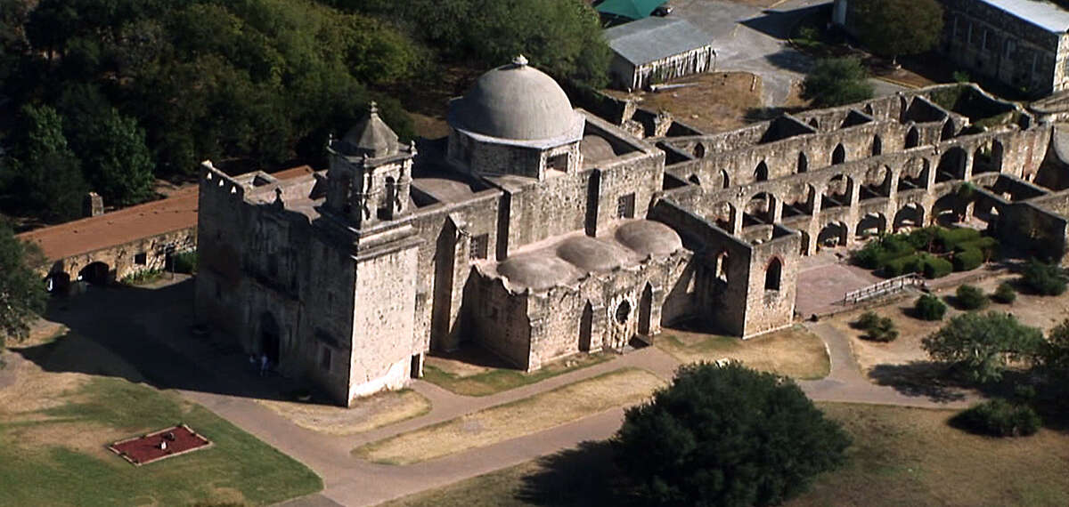2. San Antonio Missions National Historical Park is the nation's largest collection of Spanish colonial resources. Pictured: San José is the largest of the four missions and is also where the visitors' center is located.
