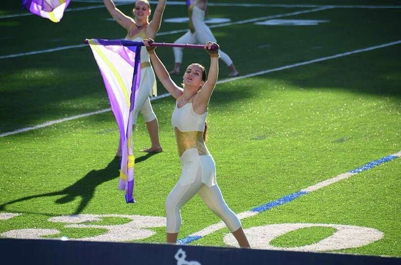Shenendehowa senior Katie Bogardus competes as a member of Spartans Drum and Bugle Corps, based in N